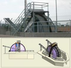 Maquinaria a medida - Filtro giratorio