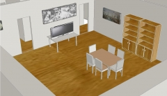 Diseño de casa en autocad 3d