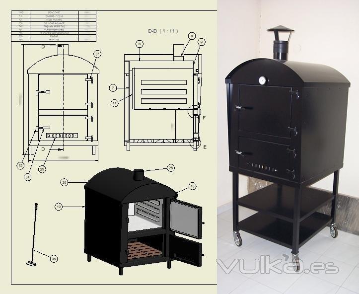 Foto hornos de le a - Hornos de lena prefabricados ...