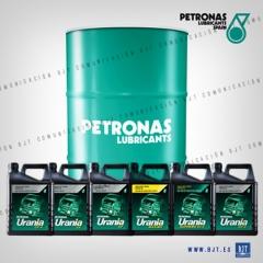 Gama de URANIA verde Motor Oil de Petronas