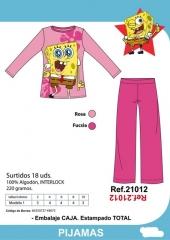 Pijama bob esponja niña