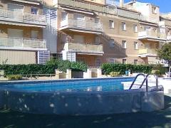 Cunit, 2ª linea de playa, 2 habitaciones, parking y piscina 132.500-eur