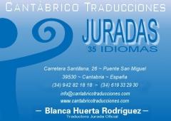 TRADUCCIONES JURADAS EN 35 IDIOMAS Y TRADUCCIONES NO JURADAS EN 43 IDIOMAS
