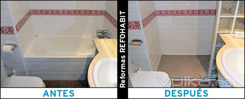 Foto quitar ba era para instalar plato de ducha de resina - Quitar banera y poner plato de ducha ...