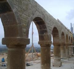 Reconstruccion de arcos ermita de alberite