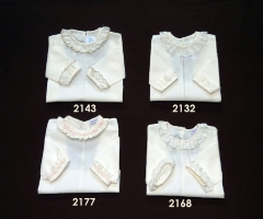 Camisa bebe batista baby short