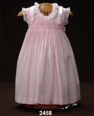 Vestido bordado nido de abeja baby dress