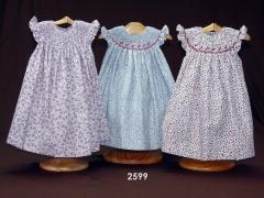 Vestido bordado jesusito bebe moda infantil ropa bebe