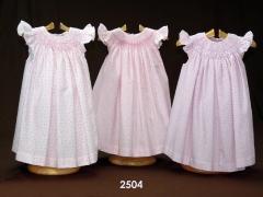 Baby dress vestido bordado smok bordery