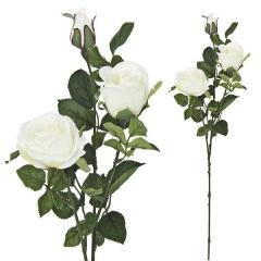 Flores artificiales. rama rosas artificiales crema68 en lallimona.com (1)