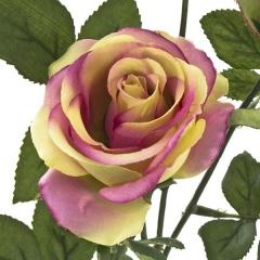 Flores artificiales. rama rosas artificiales bicolores 68 en lallimona.com (2)