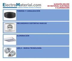tuberia, mecanismos, BJC, CEESE, iluminación, LED