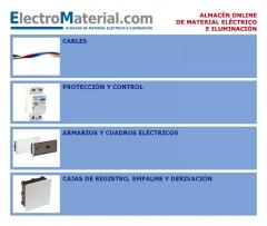 cables, diferenciales, magnetotermicos, contactores, armarios electricos, cajas de registro