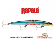 Www.ceboseltimon.es - se�uelos rapala max rap fayu - largo 11/13/15cm - peso 13/15/23gr