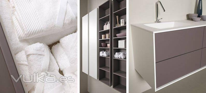 Foto detalle mobiliario de ba o dica modelo vita roca y nata Mobiliario de bano roca