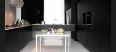 Mobiliario de cocina dica modelo berna wengue