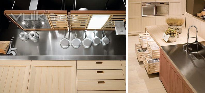 Foto detalle mobiliario de cocina dica modelo arkadia - Muebles de cocina dica ...