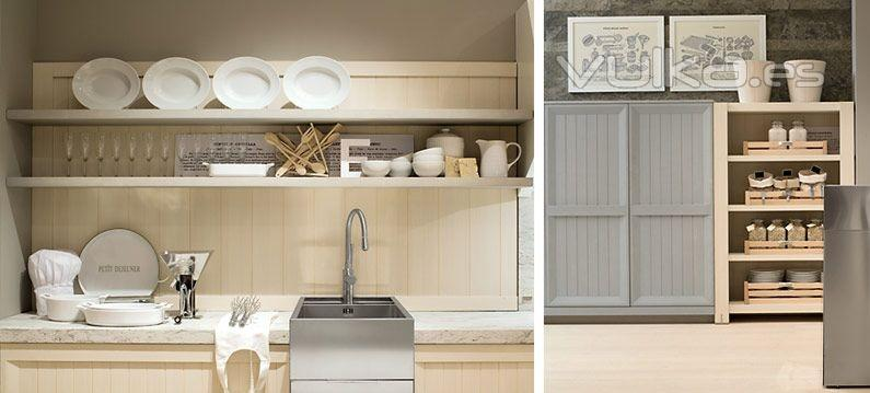 Foto detalle mobiliario de cocina dica modelo arkadia for Cocinas dica precios