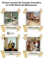Primera reunión del consejo consultivo de xada 72, planificación financiera s.l.