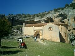 Ermita de san bartolomé cañón de río lobos