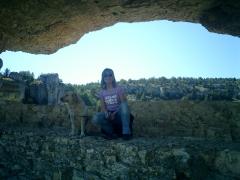 Ojo en la roca