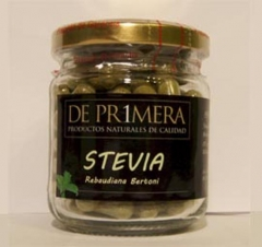 Stevia, en planta desecada, c�psulas, gotas, polvo, sobres infusi�n, comprimidos