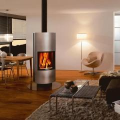 Chimenea estufa giratoria attika modelo taiko