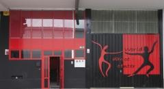 Fachada de entrada a a la Escuela.