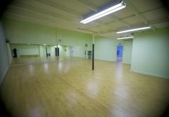 Aula de baile verde