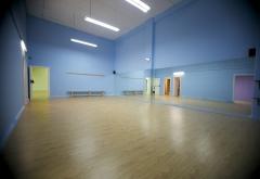 Aula de baile azul