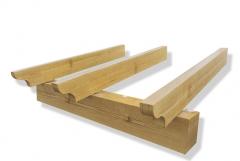 Vigas imitaci�n madera (varios colores)