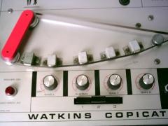 Restauración de un watkins copicat (eco a cinta)