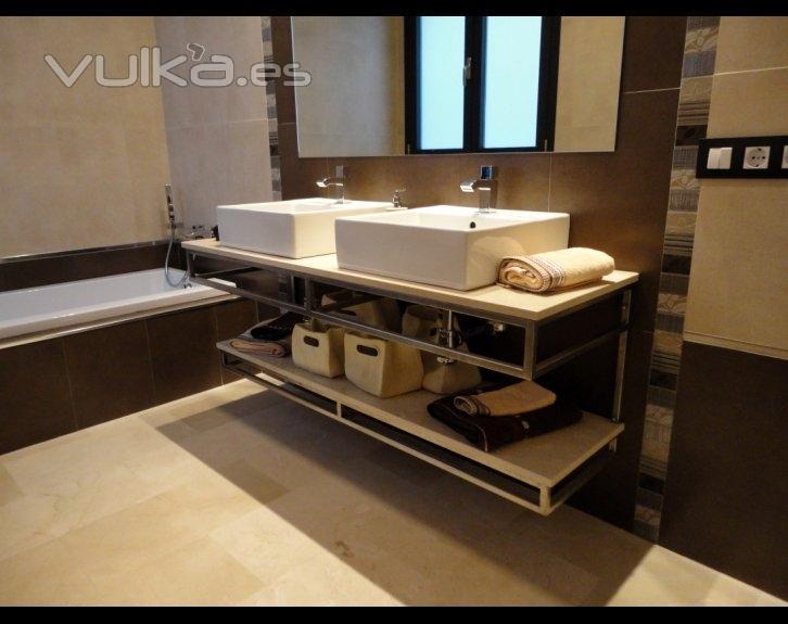 Foto muebles de ba o de dise o modernos for Diseno de banos modernos argentina