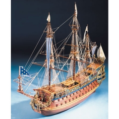 Maqueta buque frances Le Soleil Royal 1:70 Mantua Model