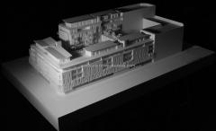 Maqueta. maqueta arquitectura. maqueta t�cnica arquitectura edificio en baiona, bayonne