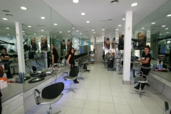 Detalle del sal�n de peluquer�a
