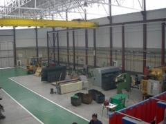 Taller de construcciones metálicas de aretxabaleta lanbide eskola, guipuzcoa