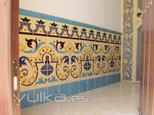 Cer mica art stica campos s l for Azulejos para patios rusticos