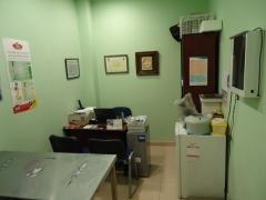 Sala de espera vista frontal