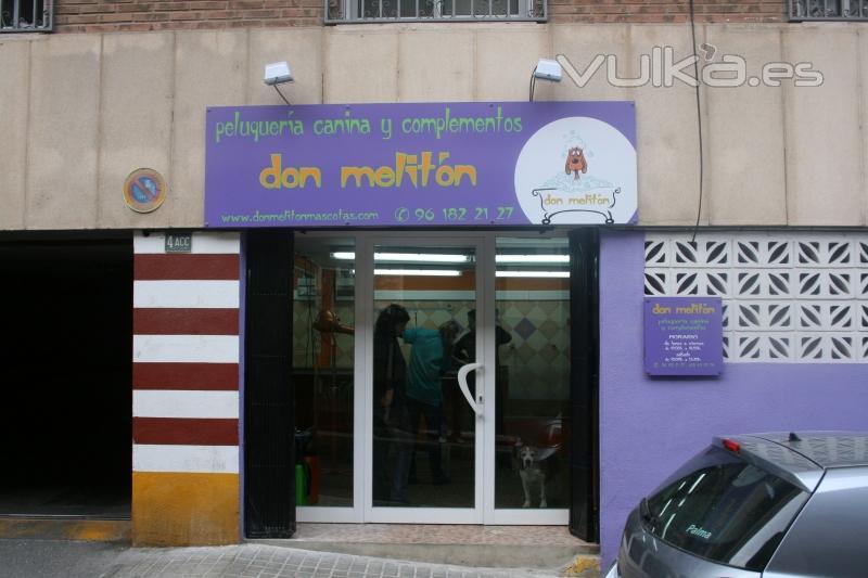 Foto fachada de peluquer a canina don melit n - Fachadas de peluquerias ...