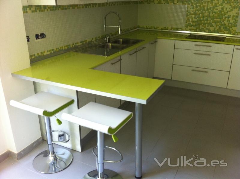 Decodan interiores for Muebles de cocina con encimera