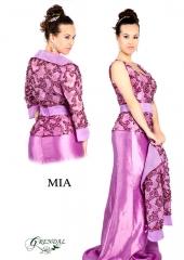 Vestido de fiesta. Referencia Mia