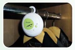 Gh2139 desodorizador colgable por ozono e iones