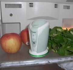 Gh2127 purificador de aire por ozono e iones en nevera