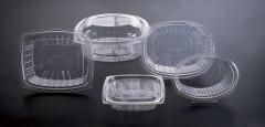 Envases de pl�stico con tapa incorporada
