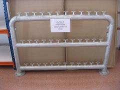 Outlet. bater�as galvanizadas para contadores de agua. oferta.