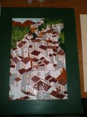 Cuadro en azulejos