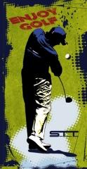Toalla de microfibra golf