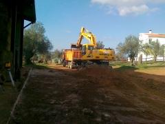Hormifrex, excavaciones en fregenal de la sierra