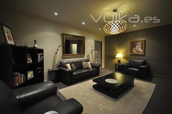 Foto sal n pintura interior for Arte y decoracion de interiores